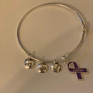 Jewelry - Lupus Bangle Bracelet